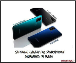 Samsung Galaxy F41 Smartphone Launched in India