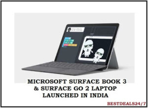 Microsoft launched Surface Book 3 and Surface Go 2 in India