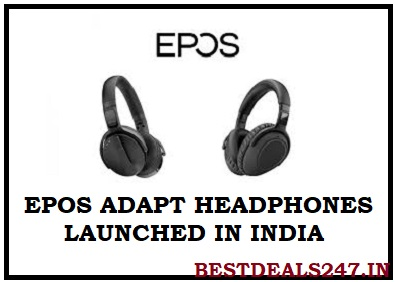 Epos Adapt Headphones Launched