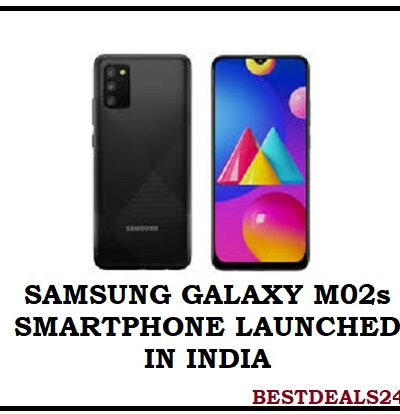 Samsung Galaxy M02s Launched in India