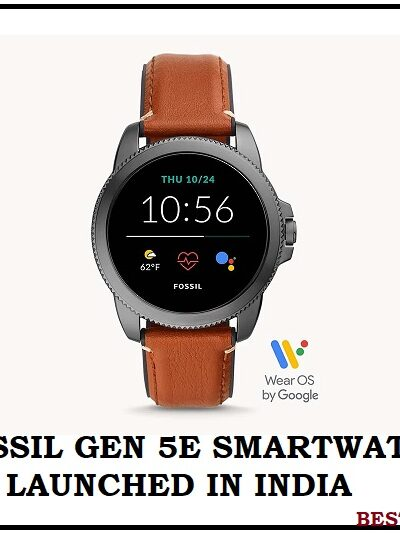 Fossil Gen 5E Smartwatch Launched