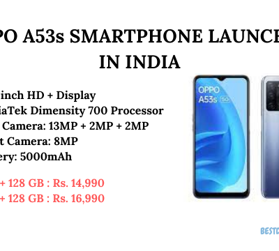Oppo A53s Launched in India