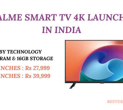 Realme Smart TV 4K Launched in India