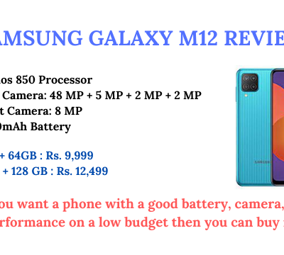 Samsung Galaxy M12 Review