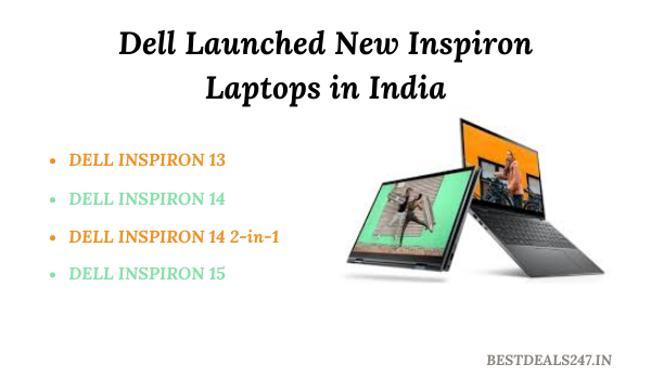Dell Launched New Inspiron Laptops in India