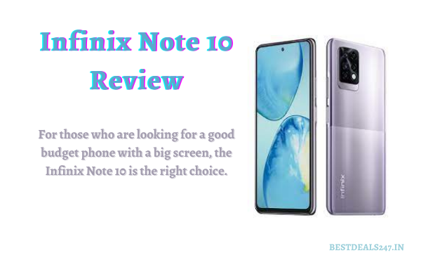 Infinix Note 10 Review